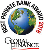 Global Finance 2018 - Best Private Bank
