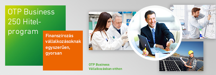 OTP Business 250 Hitelprogram