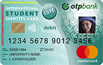 Mastercard Online ISIC